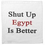 Cerrado Egipto es mejor Servilleta De Papel