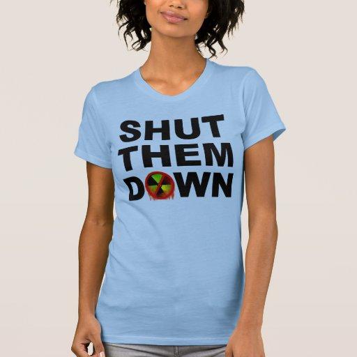 Cerrado les abajo de ningún lema de las fusiones camisetas