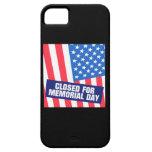 Cerrado para el Memorial Day iPhone 5 Case-Mate Protector