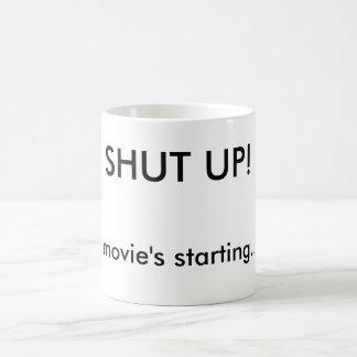 Cerrado personalizado divertido de la noche de taza de café