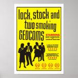 Cerradura, acción y dos GEDCOMs que fuma Poster