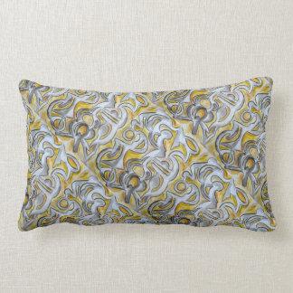Cerradura antigua - almohada del arte abstracto