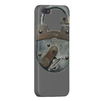 Cerradura de antaño en el caso del iPhone 5 iPhone 5 Carcasa