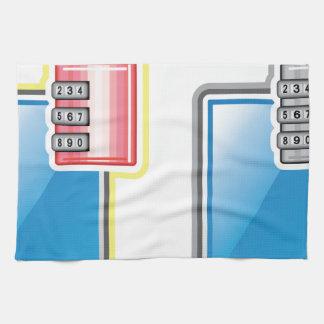 Cerradura del teléfono toalla de mano
