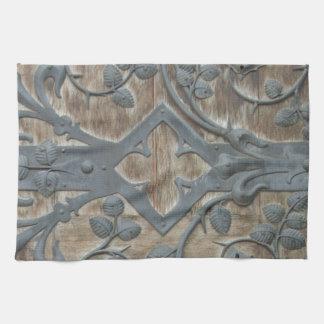 Cerradura medieval toallas de cocina
