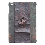 Cerradura vieja con llave iPad mini coberturas