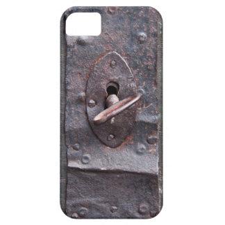 Cerradura vieja con llave iPhone 5 fundas