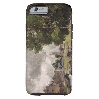 Cerradura y molino de Dedham Funda De iPhone 6 Tough
