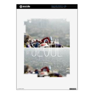Cerraduras del amor de Seul iPad 2 Calcomanías