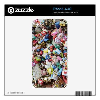 Cerraduras del amor skins para iPhone 4
