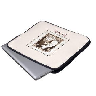 Cerridwen Goddess Pig Cauldron Laptop Sleeve