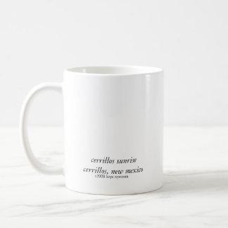 cerrillos sunrise coffee mug