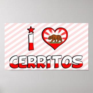 Cerritos, CA Poster