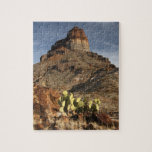 """Cerro Castellan at Sunset Jigsaw Puzzle<br><div class=""""desc"""">History of ancient seas and volcanic activity surrounds Mount Cerro Castellan in Big Bend National Park... Using amazing, unique, and high-quality images of wildlife and nature, WorldDesign is dedicated to creating fun and beautiful products for people to enjoy, share, and promote as gifts. We are a Zazzle Elite ProSeller and...</div>"""