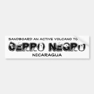 Cerro Negro Car Bumper Sticker