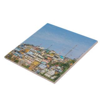 Cerro Santa Ana Guayaquil Ecuador Ceramic Tile