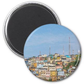 Cerro Santa Ana Guayaquil Ecuador Magnet