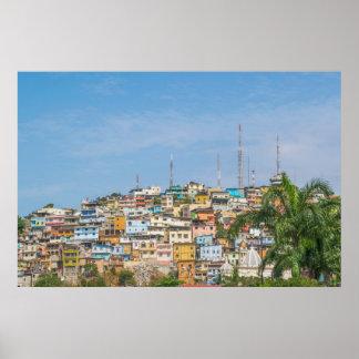Cerro Santa Ana Guayaquil Ecuador Poster