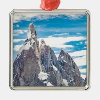 Cerro Torre - Parque Nacional Los Glaciares Metal Ornament