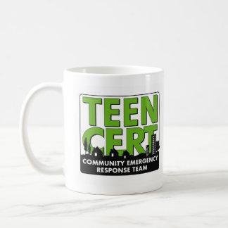 CERT adolescente Taza De Café