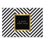 CERT atractivo del regalo del oro del modelo Invitacion Personalizada