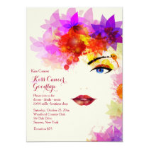 Certain Glance Cancer Fundraising Invitation