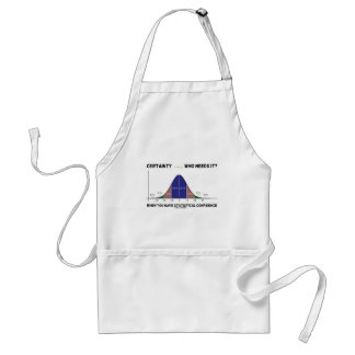Certainty ... Who Needs It? When You Have Stats Adult Apron