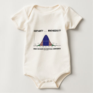 Certainty ... Who Needs It? When You Have Stats Baby Bodysuit