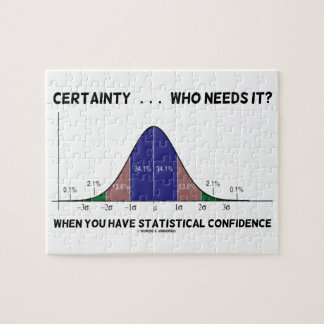 Certainty ... Who Needs It? When You Have Stats Jigsaw Puzzle
