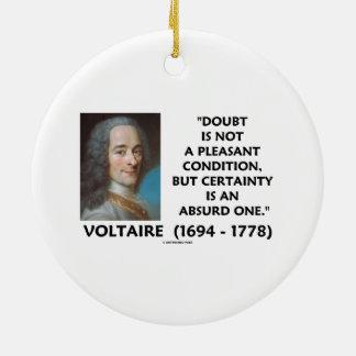Certeza no agradable Voltaire de la condición de l Adorno De Reyes