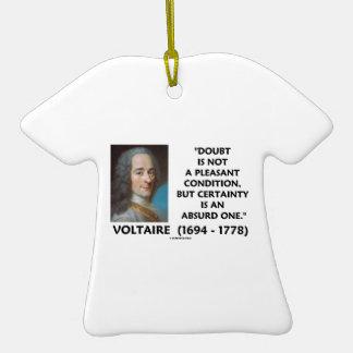 Certeza no agradable Voltaire de la condición de l Ornato