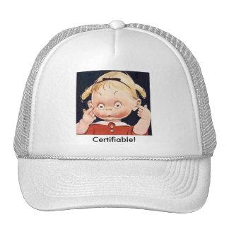 certifiable trucker hat