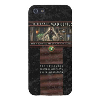 Certifiable Mad Genius iPhone5 Case