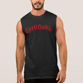 Certificable Camiseta Sin Mangas