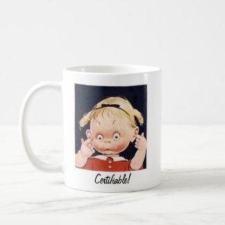 certificable taza de café