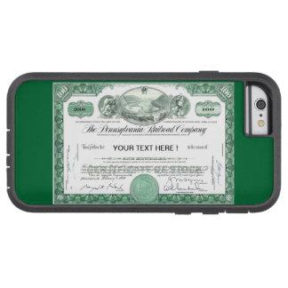 Certificado común del ferrocarril de Pennsylvania Funda Para iPhone 6 Tough Xtreme
