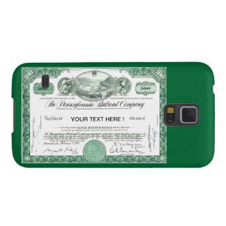 Certificado común del ferrocarril de Pennsylvania Funda De Galaxy S5