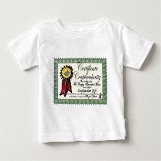 Certificado Merch de Craptacular de Mojo Camisas