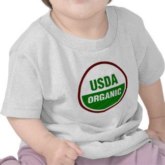 Certificado orgánico del USDA Camisetas
