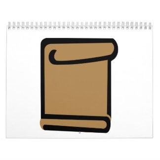 Certificate document calendar