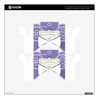 Certificate in Envelope Vector Decal For PS3 Controller