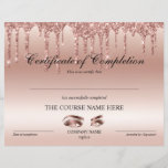 "Certificate of Completion Award lashes Course<br><div class=""desc"">Certificate of Completion Makeup artist Wink Eye Beauty Salon Lash Extension Course Completion</div>"