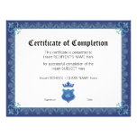 CERTIFICATE OF COMPLETION FULL COLOR FLYER