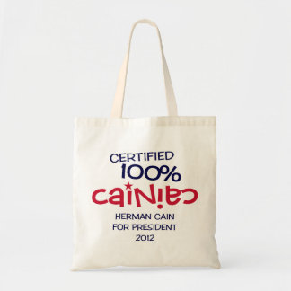 Certified 100% Cainiac - Cain 2012 Tote Bag