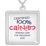Certified 100% Cainiac Necklace w/Charm - Cain2012