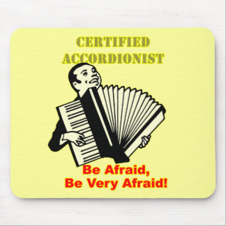 Certified Accordionist Mousepad