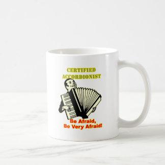 Certified Accordionist Coffee Mugs