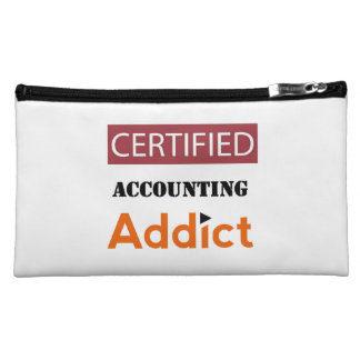 Certified Accounting Addict Cosmetic Bag