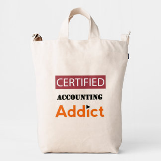 Certified Accounting Addict Duck Bag
