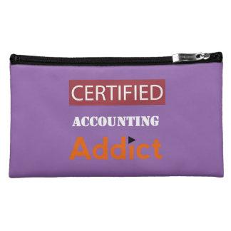 Certified Accounting Addict Makeup Bag